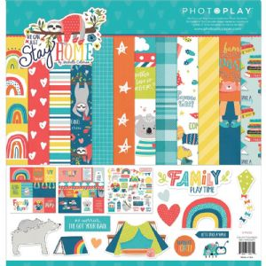 Photoplay Paper - We Can Just Stay Home - Collection Pack